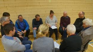 Ulike grupper danna seg rundt dei idéane folk fatta interesse for, og så vart det laga handlingsplanar.
